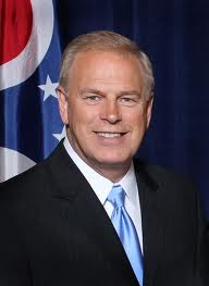 Governor Ted Strickland who granted Broom a one week reprieve.